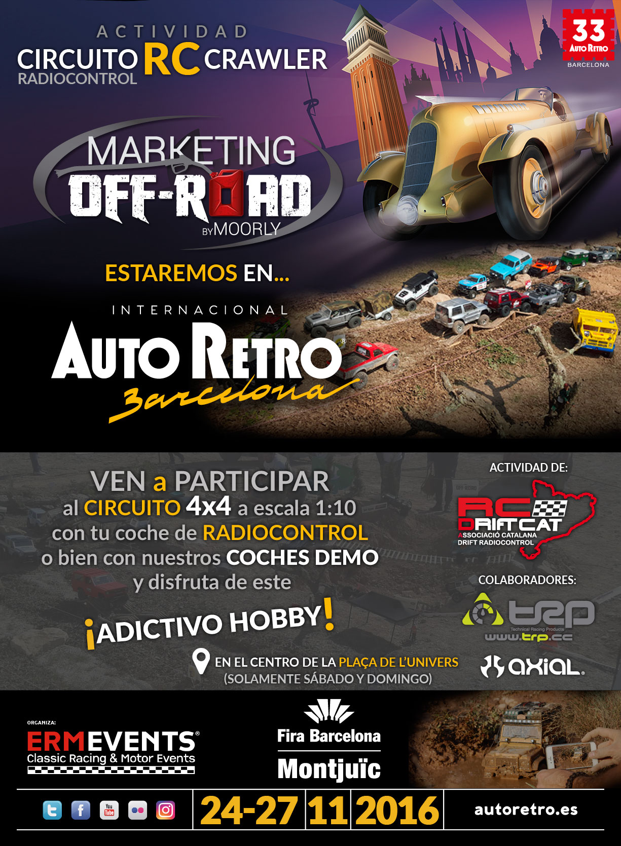 Circuito Crawler Autoretro Barcelona - Marketing Offroad