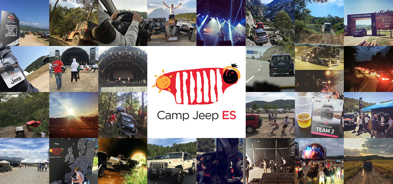 Marketing Offroad en Camp jeep 2016